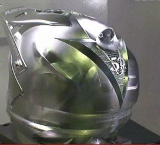 capacete de aluminio