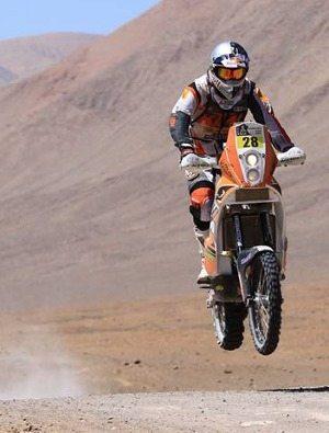 "Zanol vôa para o ""top 10"" do Rally Dakar"