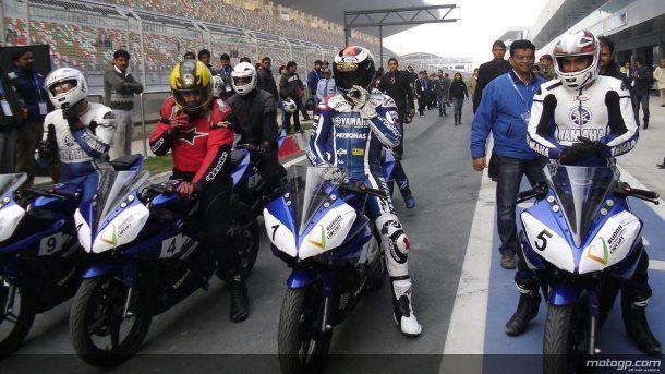 O Campeão do Mundo de MotoGP de 2010 gostou do Circuito Internacional Buddh, onde na quarta-feira se tornou no primeiro piloto de MotoGP a efectuar uma volta à pista, durante a sua visita à Índia.