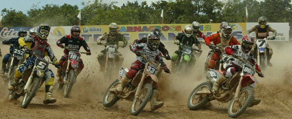 Largada da categoria MX2