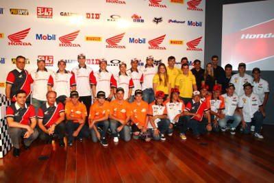 Pilotos da Honda para 2012