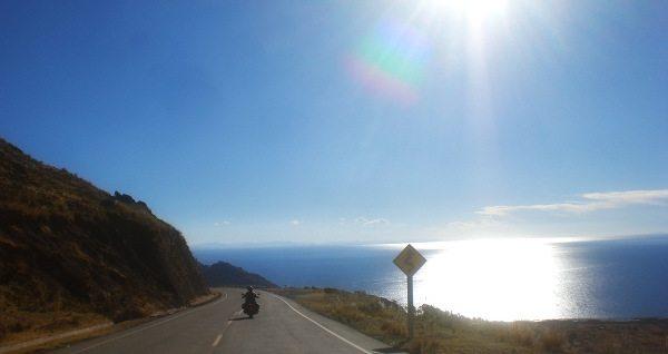 Ruta 2 na Bolívia: lindas paisagens em todo o trecho