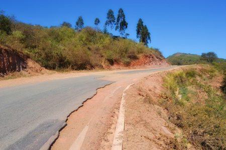 Ruta 4, na Bolívia: conservação zero