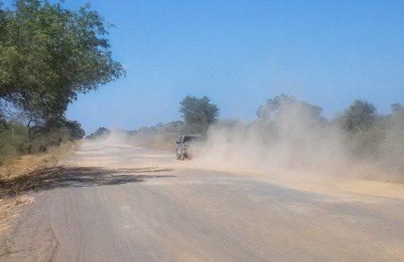 Ruta 9, no Paraguai