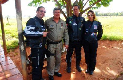 Polícia do Paraguai, o lado bom da força