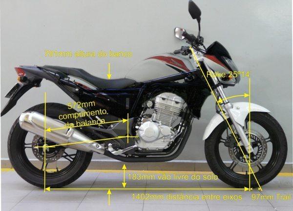 A CB 300 R é uma moto confortável, com uma ciclística bem amigável