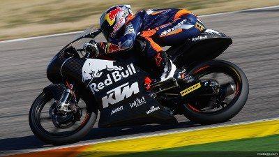 Sandro Cortese, Red Bull KTM Ajo, Valencia Test
