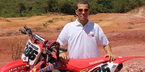 Higor Passos é tricampeão capixaba de motocross