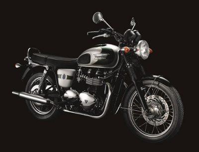 Triumph Bonneville comemorativa dos 110 anos da marca