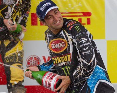 """O espanhol Carlos Campano, um dos 11 """"gringos"""" da Superliga Brasil de Motocross"""