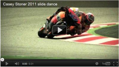 Casey Stoner Slide Dance