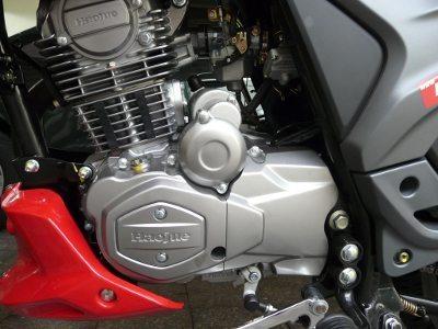 Motor mono cilindro 4 tempos duas válvulas alimentado por carburador