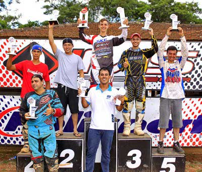 Pódio MX Open