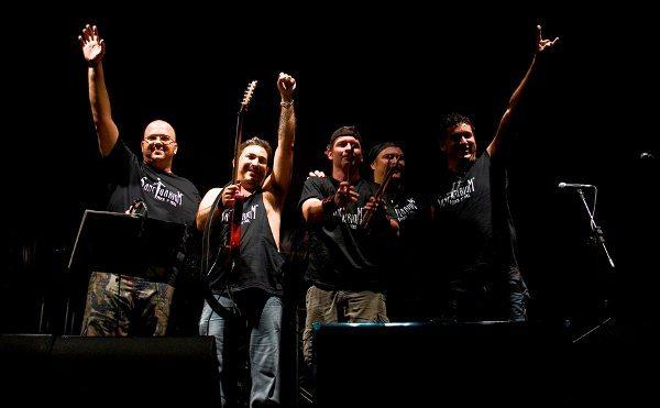 Banda Sanctuarium, formada por motociclistas
