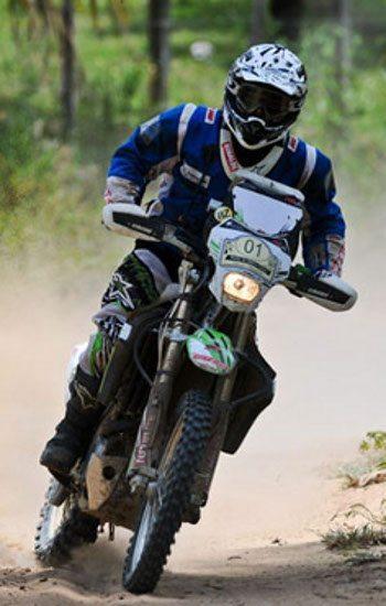 Atual campeão brasileiro de rally, Ramon Sacilotti é um dos favoritos no RN 1500