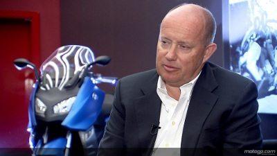 Presidente da BMW Motorrad, Hendrik von Kuenheim