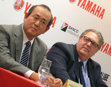 Hayakawa (esq) e Rocha: marca esteve adormecida, mas não afastada