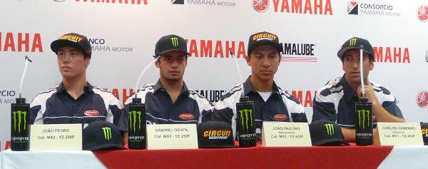 """Yamaha vai na carona do trabalho da concessionária, """"adota"""" a equipe e oficializa apoio às principais competições do MX nacional"""