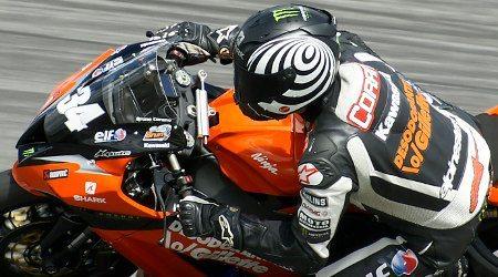 Bruno Corano, que terminou em quinto lugar no ELF SBK
