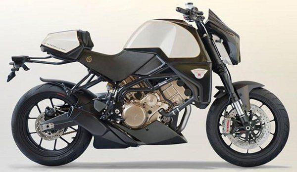 """Naked com desenho """"musculoso"""": moto quase artesanal"""