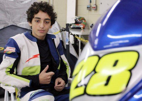 Pedro Sampaio, piloto da Copa Honda CB 300R, no SuperBike Series 2012