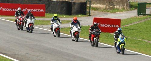 Ricieri Luvizotto, piloto da Copa Honda CBR 600F, no SuperBike Series 2012