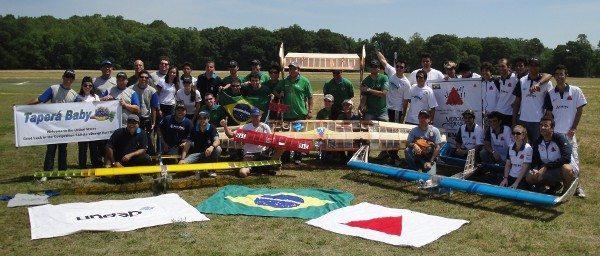 Quatro equipes brasileiras comemoram o resultado na Geórgia
