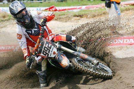 Jean Ramos é um dos pilotos que disputam a Superliga Brasil de Motocross