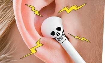 Fones de ouvido: cuidado com o volume