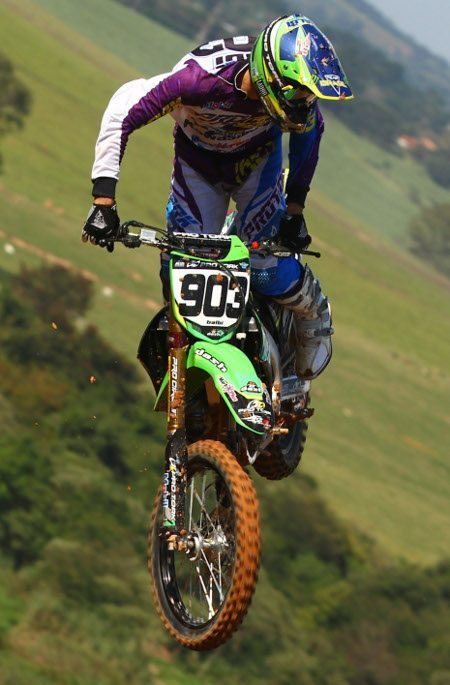 Jorge Balbi, piloto da categoria MX1