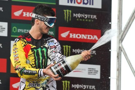 Pourcel comemora vitória na MX1