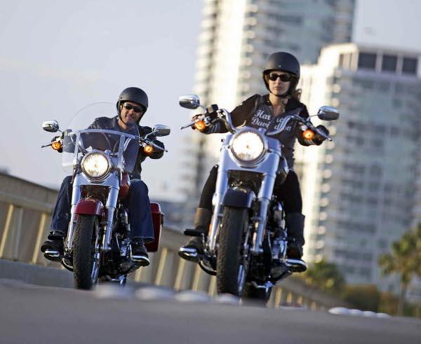 Andar de Harley-Davidson é o objetivo
