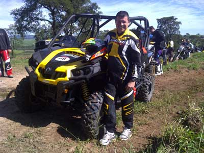 Carlo Collet vence o Rally Cuesta Off-Road a bordo do Can-Am Commander 1000X