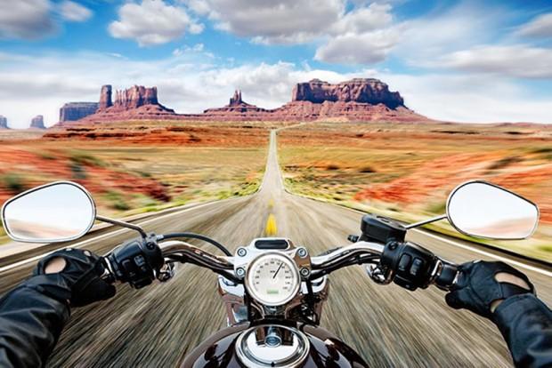 Você e a moto tem de se tornar um corpo só, e não uma dualidade - foto de divulgação Harley-Davidson
