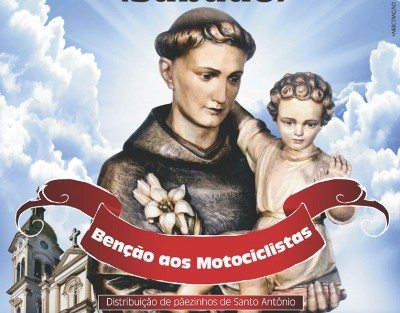 Santo Antonio vai abençoar os motociclistas