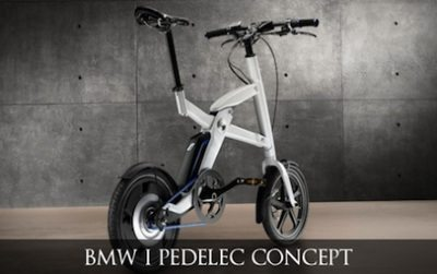 BMW mostra a i Pedelec de tração humana e elétrica