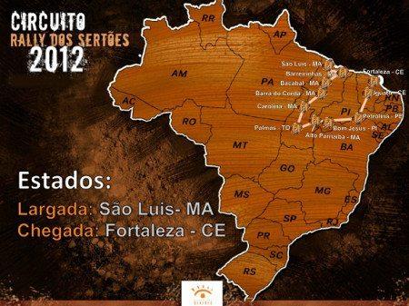 Serão 4.840km cortanto 11 cidades do norte e nordeste brasileiro