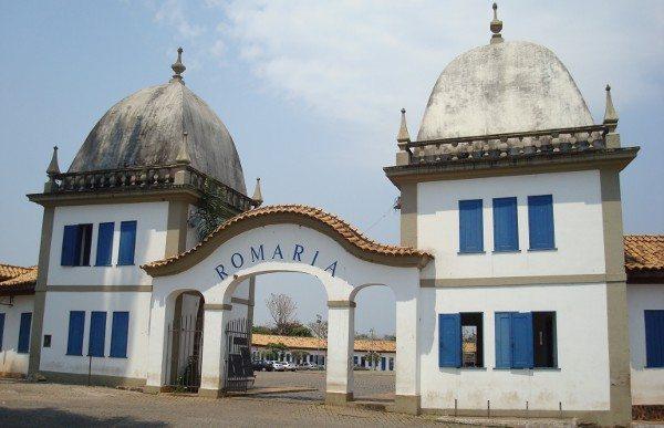A Romaria foi edificada, em 1932, na cidade mineira de Congonhas, para abrigar fiéis e desativada nos anos 60.