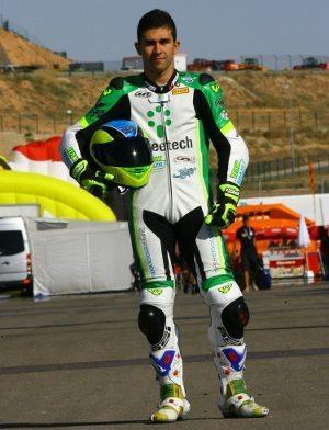 Philippe Thiriet (#36), durante dois anos, correu por uma equipe tcheca e utilizava o circuito de Brno para treinos