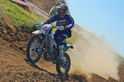 Rômulo Bottrel, da Gas Gas Racing Team, na quinta etapa da Copa EFX Pacato