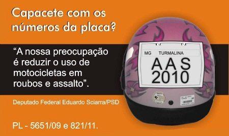 Campanha favorável do deputado Eduardo Sciarra (PSD)