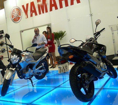 Yamaha apresentou a Fazer BlueFlex hoje, 13/7, em São Paulo