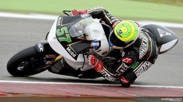 Vindo da última linha da grelha, o jovem brasileiro levou a cabo prova combativa para terminar em 24º naquela que foi a sua segunda corrida na Moto2™