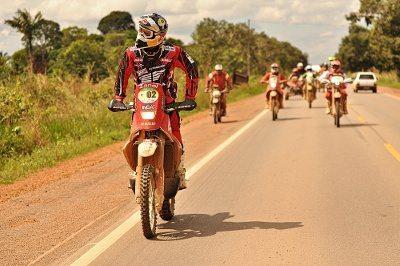 Felipe Zanol durante o Rally da Amazônia