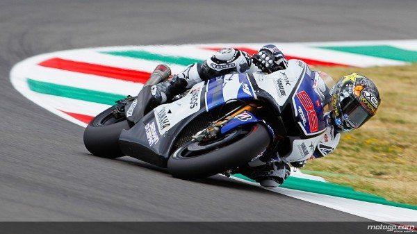 Jorge Lorenzo, da Yamaha Factory Racing, venceu a corrida de MotoGP™ do Grande Prémio de Itália TIM, em Mugello, à frente de Dani Pedrosa e Andrea Dovizioso.