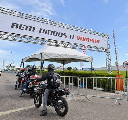 Haverá test-drive em toda a linha de motos Yamaha