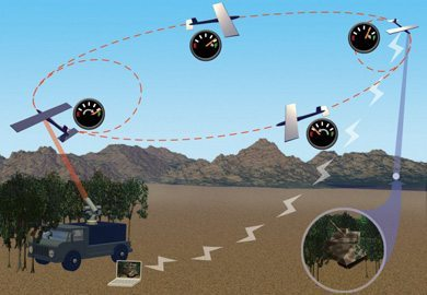 A empresa está trabalhando em sistemas de envio de energia da superfície da Terra a satélites e até mesmo à Lua.