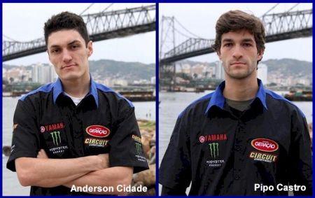 Pilotos da Yamaha Grupo Geração Monster Energy Circuit