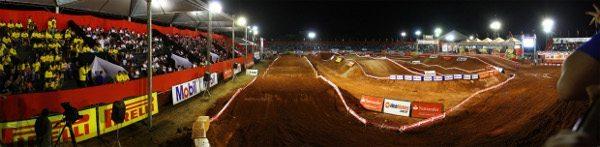 Pista do Arena Cross em Curitiba