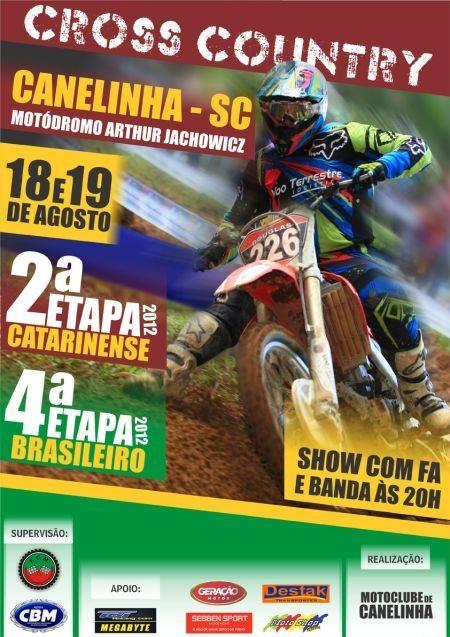 Bras Cross Country cartaz evento